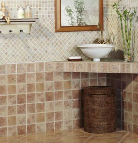 Azulejos para baños rústicos - Tipos de azulejos