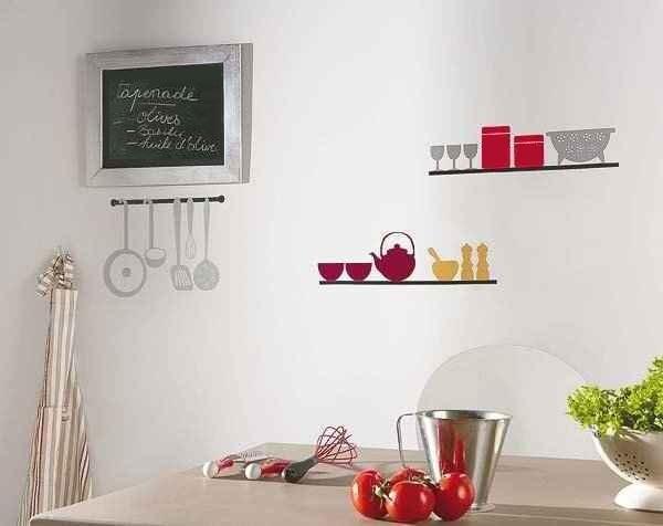 Ideas de decoración para la pared de cocina