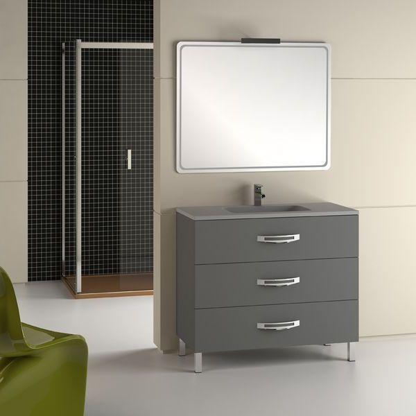 Modelos de muebles para baños modernos