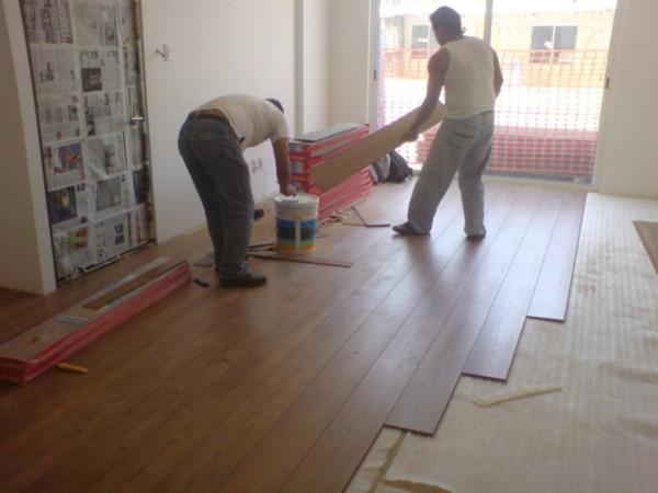 Pisos laminados -Pasos para instalar un piso laminado
