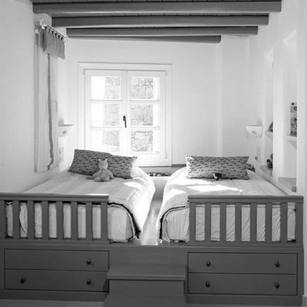 Decoración de dormitorios para niños con poco espacio
