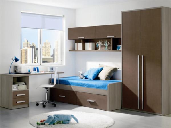 Muebles de dormitorios modernos infantiles
