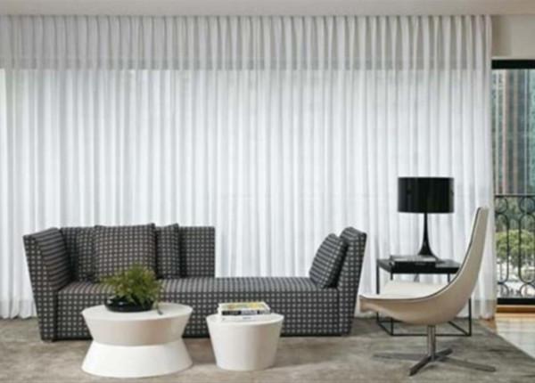 Modelos de cortinas para sala modernas - para sala de estar